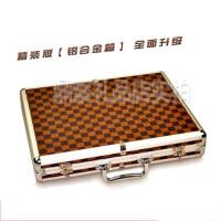 大号铝合金 麻将箱 麻将盒空箱连接 礼品箱 礼品盒