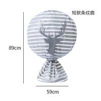风扇防尘罩全包落地式家用台式电风扇罩子落地扇圆形风扇套罩子