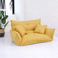 懒人沙发榻榻米小户型卧室布艺小沙发双人日式折叠沙发床