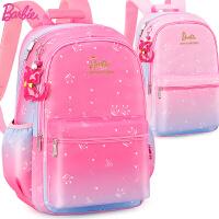 芭比小学生书包女童3-6年级公主女孩韩版6-10岁儿童休闲双肩背包