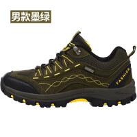 户外登山鞋男女防滑耐磨透气徒步鞋休闲轻便运动户外鞋秋冬旅游鞋