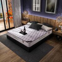 御品工匠 弹簧椰棕席梦思 软硬两用床垫织棉面料