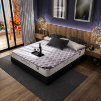 御品工匠 床垫 弹簧椰棕席梦思 软硬两用床垫织棉面料弹簧床垫 1.2米 1.5米 1.8米 可定制乳胶床垫