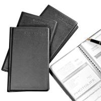 齐心A1556 A1557名片夹册 名片包 商务名片簿 名片夹 大容量名片册 容量180枚240枚两款可选