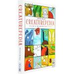 Creaturepedia 英文原版 动物的朋友圈 你没见过的动物分类图鉴
