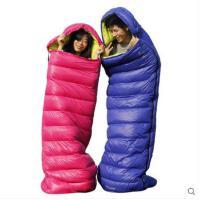 野外睡袋帐篷户外睡袋信封式羽绒睡袋鸭绒睡袋户外情侣款互拼加厚保暖睡袋