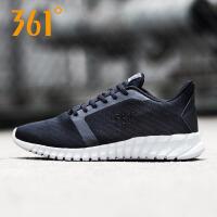 361度男鞋运动鞋2018秋季新款透气网面滑板鞋轻便学生休闲板鞋