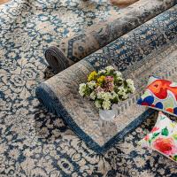 奇居良品 土耳其客厅茶几餐厅书房卧室床边丙纶地毯地垫 索菲亚