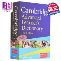 【中商原版】剑桥高阶英语字典词典4版 正版 英文原版Cambridge Advanced Learner's Dictionary雅思考试