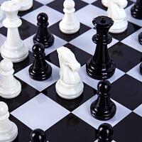 国际象棋西洋棋高档成人儿童学生初学者大号磁性棋子折叠棋盘套装