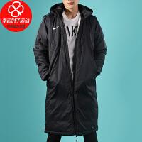 幸运叶子 NIKE耐克棉衣男装冬季新款运动服长款保暖防风棉服AR4502-010