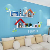 电视背景墙装饰架客厅墙壁置物架隔板墙上置物架壁挂墙面创意格子