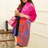 两用加厚超长款女士围巾韩版针织仿羊绒围巾披肩