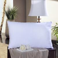 富安娜圣之花家纺 磨毛枕头枕芯舒适枕头芯 甜心呵护枕  74*48