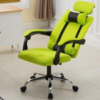 休闲舒适办公椅电脑椅家用现代简约网布书房可躺懒人学生办工椅子