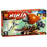 欢乐童年-兼容乐高式10448幻影忍者系列Ninjago飞艇突击70603益智拼装积木玩具
