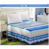 福存家居 床裙全棉1.2米1.5米1.8米2.0米床床垫保护套罩花边时尚
