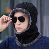 户外防寒冬帽保暖套头帽男士骑车防风帽包头帽护脖颈连体帽子