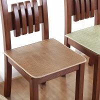 汽车座垫餐椅垫夏季清凉凉席坐垫椅子垫冰丝办公室学生冰藤椅垫子