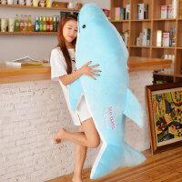 情侣海豚布娃娃公仔可爱睡觉抱枕毛绒玩具女孩生日大号玩偶萌韩国