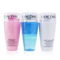 兰蔻 Lancome 清洁三部曲:速效眼唇卸妆液 75ml + 温和卸妆乳 75ml + (粉水)清滢柔肤水 75ml