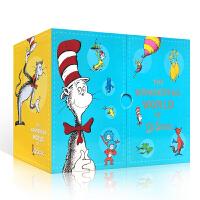 Wonderful World of Dr.Seuss苏斯博士礼品装(精装20册)The Cat in the Hat ABC One Fish Two Fish Hop on Pop 英文原版绘本