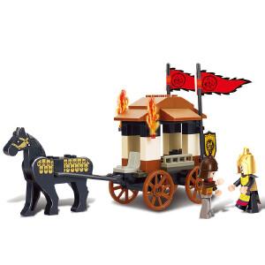 【当当自营】小鲁班三国系列儿童益智拼装积木玩具 三顾茅庐M38-B0259