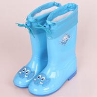 物有物语 雨鞋 家居日用儿童男童女童宝宝防滑胶鞋雨靴卡通小孩时尚水鞋中筒雨鞋雨具