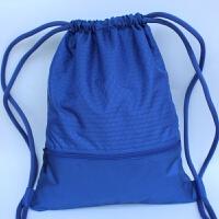 户外运动篮球包健身训练双肩包男女旅行背包简易束口足球包袋