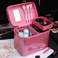 化妆包便携收纳包大容量隔层大号化妆箱手提旅行专业洗漱包女防水
