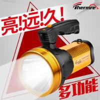 家用远射5000氙气消防巡逻打猎手提探照灯强光手电筒可充电超亮