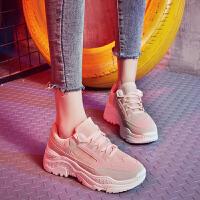 老爹鞋女春季新款韩版ins时尚百搭学生网红厚底运动鞋chic跑步鞋