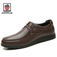 Apple苹果皮鞋 男士休闲鞋低帮男鞋大头皮鞋韩版潮鞋子4201046