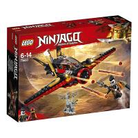 【当当自营】LEGO乐高积木幻影忍者Ninjago系列70650 6-14岁命运之翼号