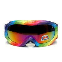 户外儿童滑雪镜偏光滑雪镜 儿童滑雪眼镜 双层防雾 偏光