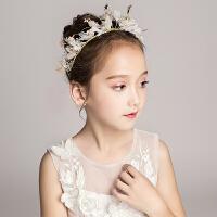儿童礼服头饰发箍饰品头花花童婚纱发卡女童演出配饰花朵发饰头箍