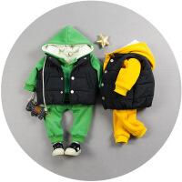 20180505023719871男童装秋冬款套装婴儿小童衣服宝宝冬装0-1-2-3岁加厚棉衣外套潮