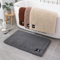 卫生间门口地垫门垫吸水脚垫地毯进门地垫卧室厕所浴室家用防滑垫