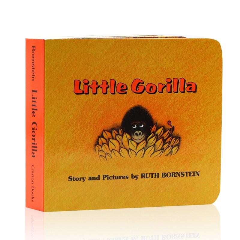 顺丰发货 Little Gorilla 儿童启蒙认知读物 英文原版亲子童书 汪培珽推荐阶段书单  纸板书 家长们推荐的经典有趣故事书