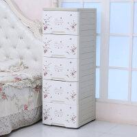 42cm夹缝多层收纳柜子塑料床头柜抽屉式儿童衣柜卫生间储物整理柜