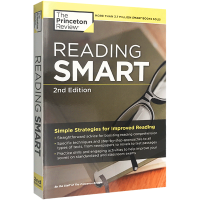 Reading Smart 2nd Edition 阅读聪明学 第二版 英文原版工具书 普林斯顿 SAT GRE 托福考