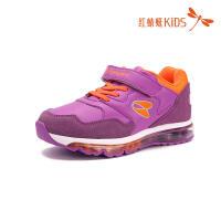 红蜻蜓童鞋韩版弹力面气垫底减震防滑透气魔术贴儿童休闲鞋