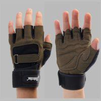 健身手套男半指运动手套吸汗透气健美手套器械训练加长护腕