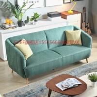 布艺沙发客厅整装北欧简约沙发 小户型三人成套组合沙发6006 二人位+三人位 组合