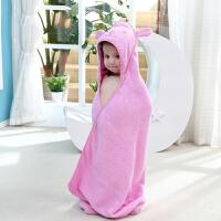 宝宝浴巾斗篷带帽浴袍吸水加大毛巾料婴儿童四季浴巾卡通