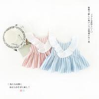 2018夏天新款女童超洋气公主裙子女宝宝连衣裙夏装婴儿童1衣服3岁