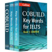 柯林斯雅思英语关键词汇套装 英文原版 Key Words for IELTS 英文版考试工具书 现货正版进口书籍