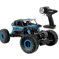 儿童遥控越野车玩具车男孩遥控玩具汽车 山地岩石竞速攀爬车模型四驱大脚越野吉普车礼物