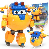 奥迪双钻超级飞侠玩具大号变形机器人全套装小飞侠玩具 海外版多多大变形机器人