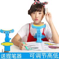 晨通儿童视力保护器预防近视小学生防近视坐姿矫正器纠正写字姿势仪架